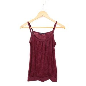 ✨2 for $22✨ Bluenotes Burgundy Tank Top